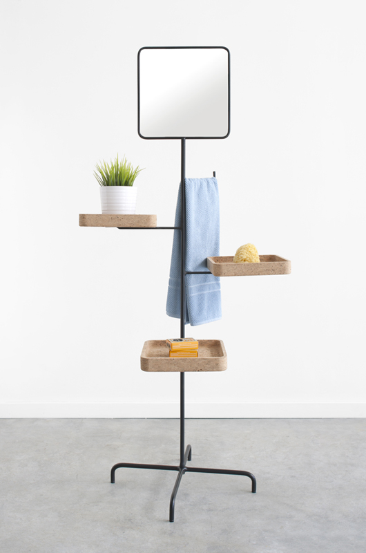 Mirror + trays